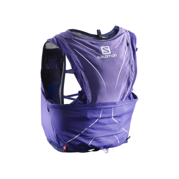 Salomon Adv Skin 12 St Purple Op Surf The Web