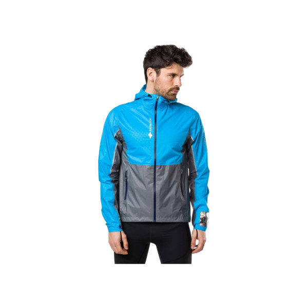 Raidlight Activ MP+ Jacket Homme Blue Grey