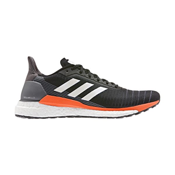 Adidas Solar Glide Homme Black / Solar Orange