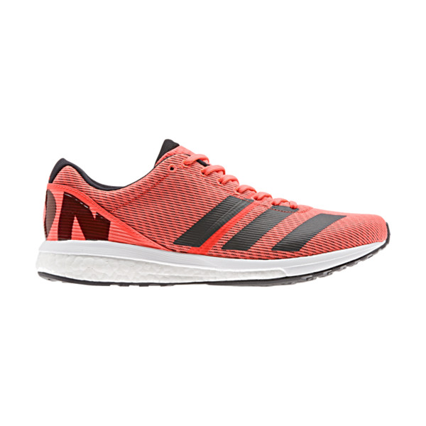 Adidas Adizero Boston V8 Femme Solar Red Orange