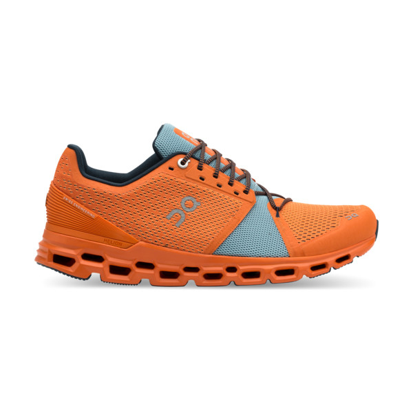 On Cloudstratus Homme Orange / Fire