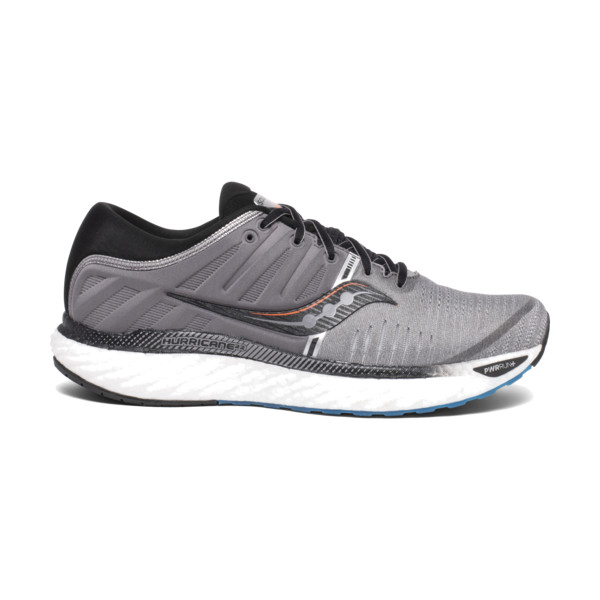 Saucony Hurricane 22 Homme Grey / Black