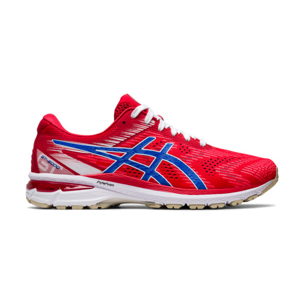 Asics GT2000 V8 Homme Classic Red / Electric Blue