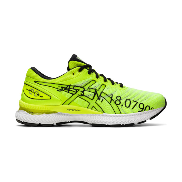 Asics Gel Nimbus 22 Homme Yellow / Safety Yellow