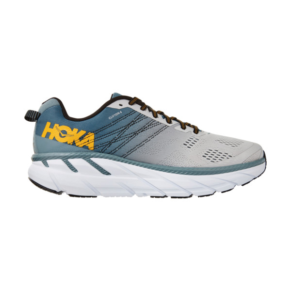 Hoka Clifton 6 Homme Grey