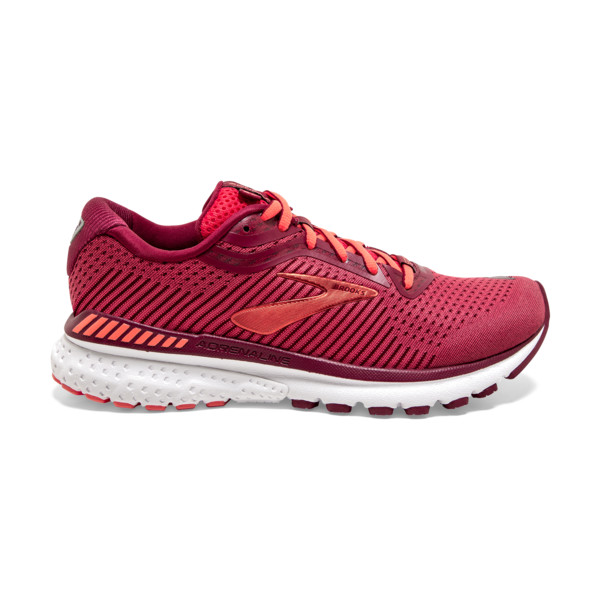 Brooks Adrenaline GTS 20 Homme Rumba Red / Teaberry / Coral