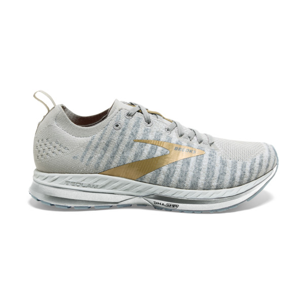 Brooks Bedlam 2 Femme White / Grey / Glod