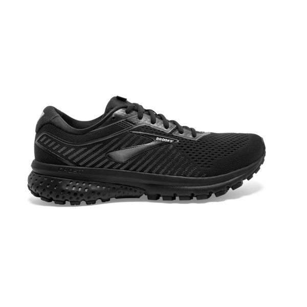 Brooks Ghost 12 Femme Black / Grey