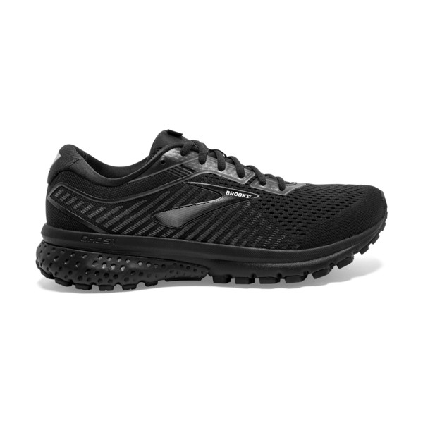 Brooks Ghost 12 Homme Black / Grey