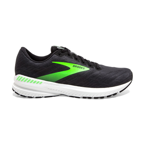 Brooks Ravenna 11 Homme Ebony / Black / Gecko