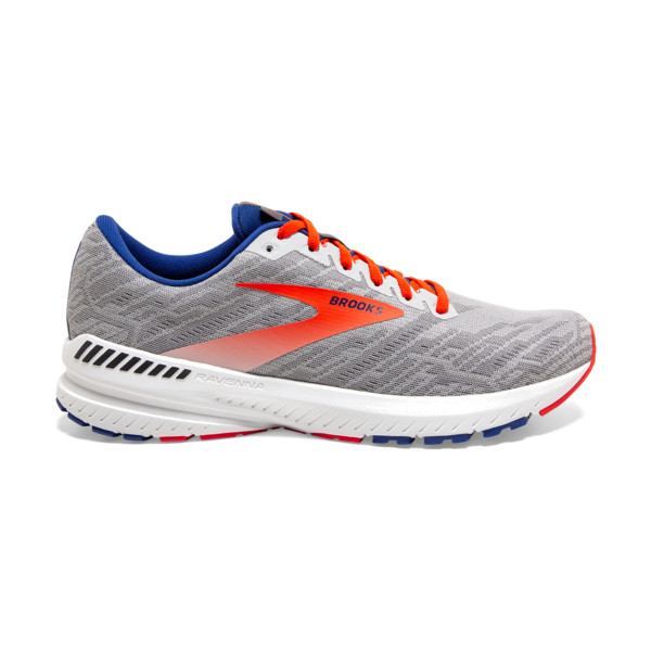 Brooks Ravenna 11 Homme Grey / Cherry / Mazarine
