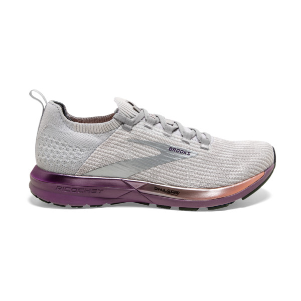 Brooks Ricochet 2 Femme Grey / Cantaloupe / Grape