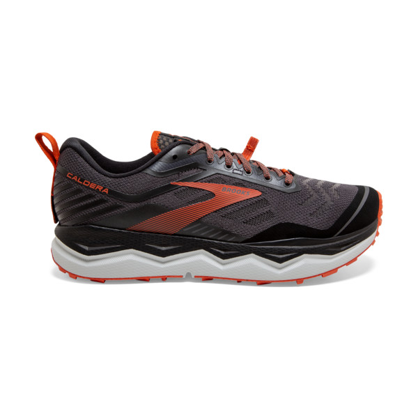 Brooks Caldera 4 Homme Black / Grey / Burnt Ochre