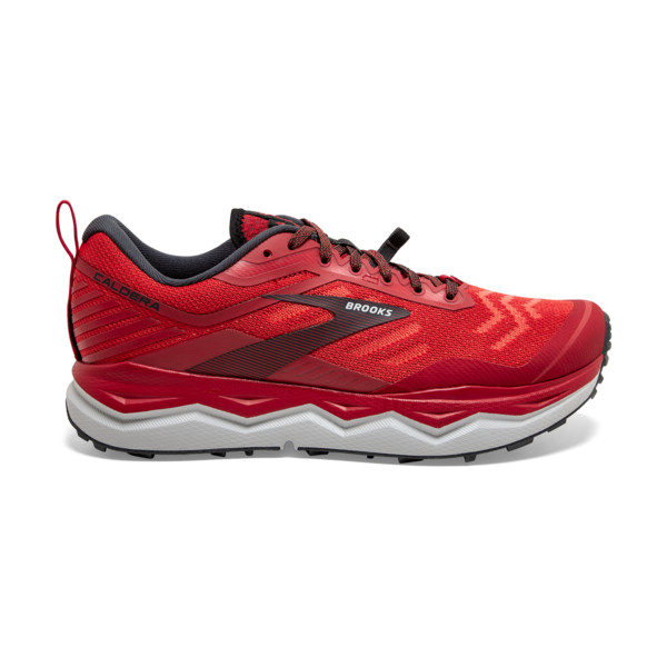 Brooks Caldera 4 Homme High Risk Red / Ebony / Grey
