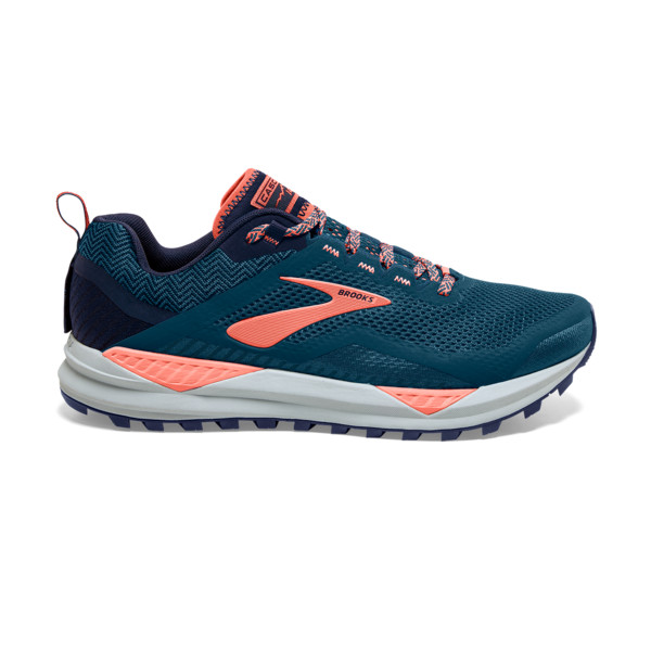 Brooks Cascadia 14 Femme Desert Flower / Navy / Grey
