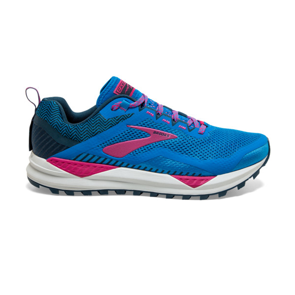 Brooks Cascadia 14 Femme Blue Aster / Beetroot / Grey