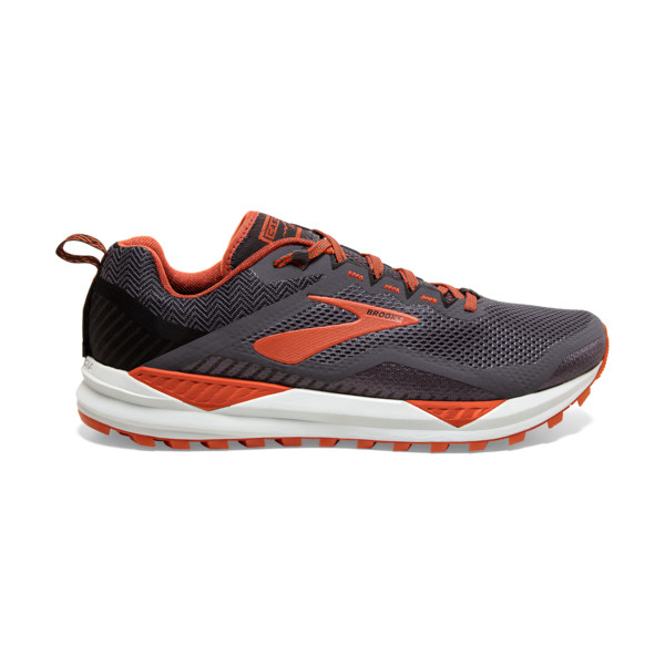 Brooks Cascadia 14 Homme Black / Grey / Burnt Ochre
