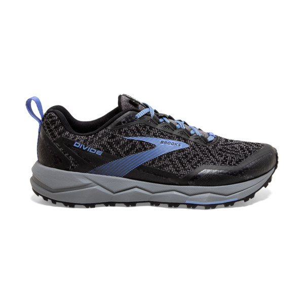 Brooks Divide 1 Femme Grey / Black / Cornflower Blue