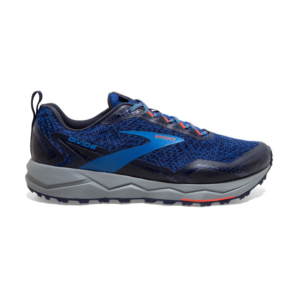 Brooks Divide 1 Homme Blue / Navy / Cherry Tomato