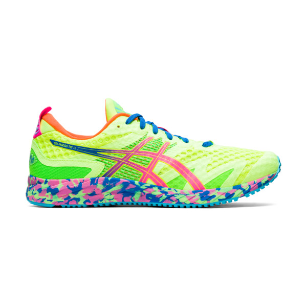 Asics Noosa Tri 12 Homme Safety Yellow / Hot Pink