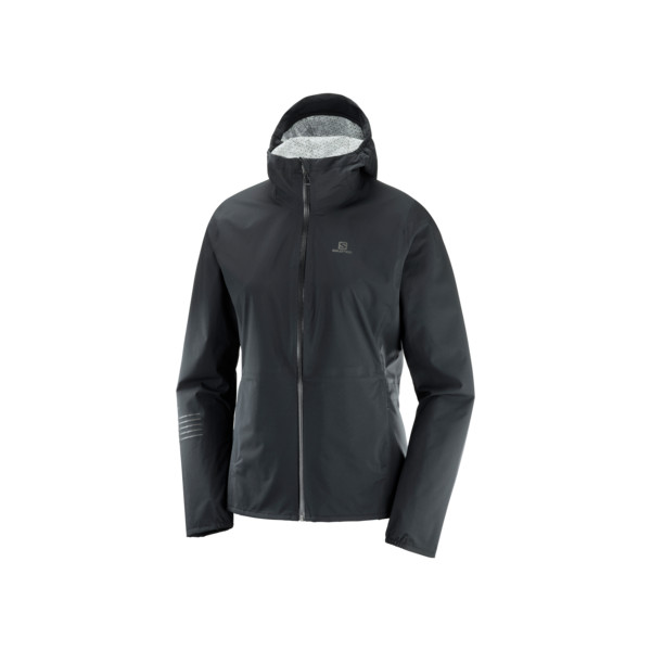 Salomon Lightning WP JKT Femme Black