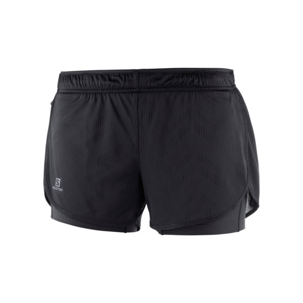 Salomon Agile 2in1 Short Femme Black